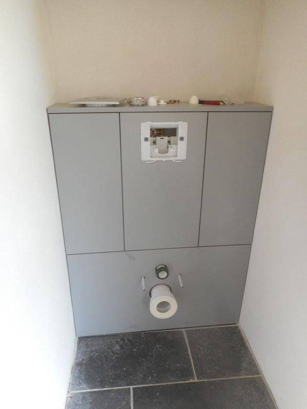 Creation d 39 un meuble wc suspendu aix en provence pelissane marseille plan de campagne 13 brd - Meuble wc suspendu lapeyre ...