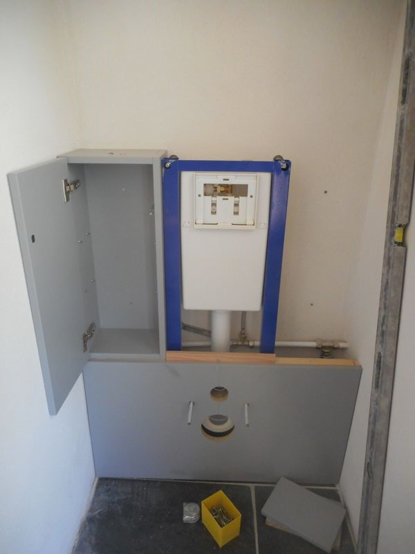 un meuble wc suspendu a salon de provence